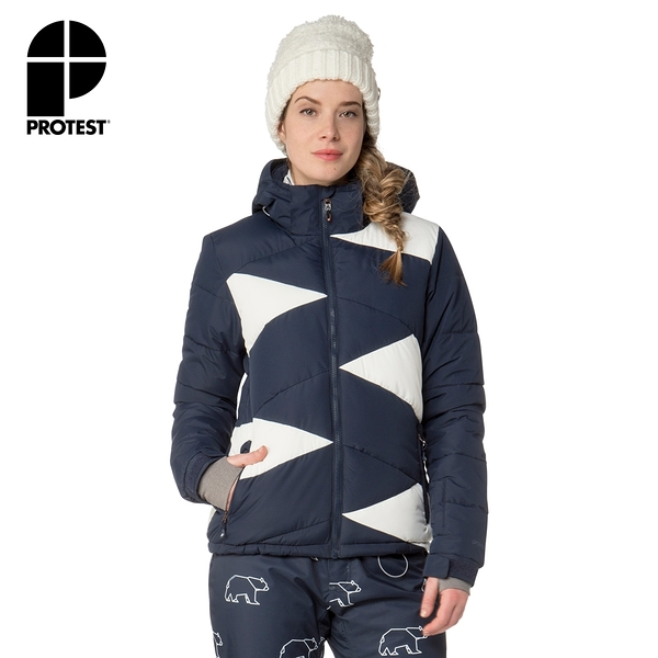 PROTEST 女 機能防水保暖外套 (地表藍) SILVARES SNOWJACKET