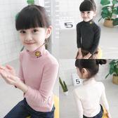 女童長袖內搭衣          兒童長袖T恤韓版中大童小女孩上衣男女童打底衫內搭 宜室家居