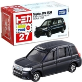 【 TOMICA 火柴盒小汽車 】TM027 Toyota JPN TAXI 豐田日本計程車  /   JOYBUS玩具百貨