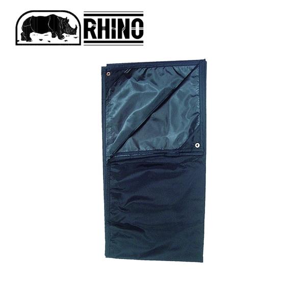 【RHINO 犀牛 929 RHINO犀牛2人防潮地布/蓋布 《黑》】929/帳棚墊/防水墊/露營