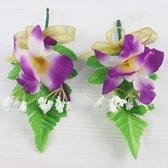 石斛蘭緞帶花 單朵石斛蘭滿天星-紫/一桶50個入(定50) 石斛蘭胸花 MIT製-國