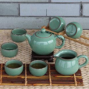 龍泉青瓷 陶瓷汝窯紫砂套裝 功夫茶具 過濾 大號