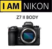 名揚數位 Nikon Z7 II BODY 單機身 國祥公司貨 (分期0利率) 登錄贈3000郵政禮卷06/30止