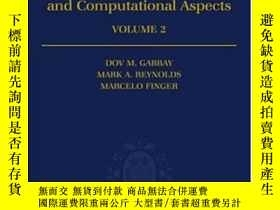 二手書博民逛書店Temporal罕見LogicY364682 Dov. M. Gabbay Oxford University