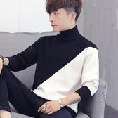 秋冬季高領毛衣男韓版寬鬆男士針織衫個性外套·皇者榮耀3C旗艦店