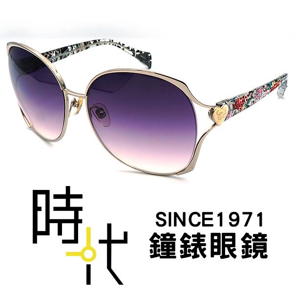 【台南 時代眼鏡 ED Hardy】墨鏡太陽眼鏡 2 HEARTS ARROW SILVER 美式潮流x日本工藝
