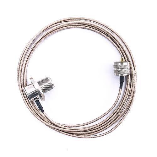 無線電傳輸專用車機線-UHF公對UHF母(2M)