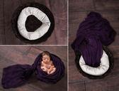 兒童攝影道具麥圈助理造型枕百天寶寶拍照