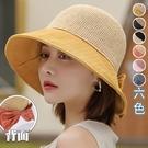 針織頂拼接漁夫帽(6色)【995189W...