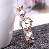 時尚簡約手?手錶女小錶盤鑲?石英錶