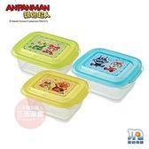 日本 麵包超人 - AN離乳食分裝盒(中)3入LEC