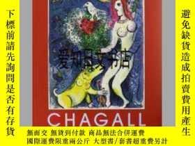 二手書博民逛書店【罕見】Marc Chagall: The Lithograph