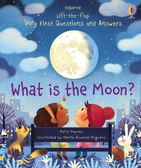 Lift-The-Flap Very First Questions And Answers:What Is The Moon? 月球知識翻翻學習書