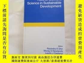 二手書博民逛書店Role罕見of Cement Science in Susta