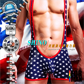 SHINO美國派連身健力服SP0007