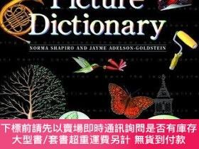 二手書博民逛書店The罕見Oxford Picture Dictionary With Self TestY255174 Sh
