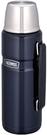 THERMOS【日本代購】戶外系列 不銹鋼保溫瓶1.2L ROB-001-二色