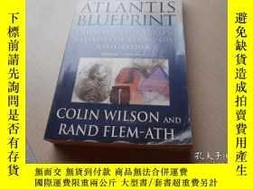 二手書博民逛書店The罕見Atlantis Blueprint,: unlock