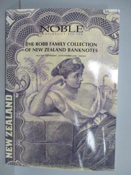【書寶二手書T6/收藏_EJT】Noble Numismatics PTY.LTD_2010/11_The Robb F