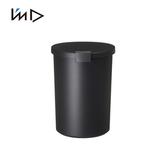 【 岩谷Iwatani 】圓形可分類密封防臭垃圾桶12 4L 黑