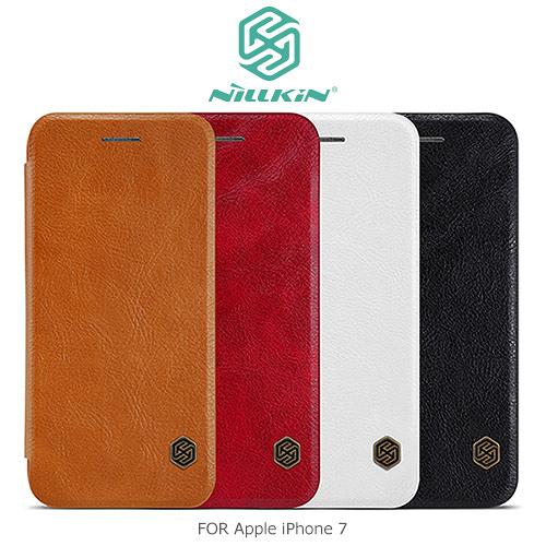 NILLKIN Apple iPhone SE2/7/8 秦系列 側翻皮套 皮革 保護套 手機套 SE 2020