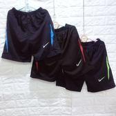 ☆棒棒糖童裝☆(E1522)夏男大童鬆緊腰顏色邊排汗短褲 台灣製 120-170