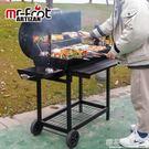 燒烤爐戶外工匠燒烤架家用燒烤爐碳木炭大號美式庭院全套工具5人以上bbqQM『櫻花小屋』
