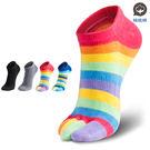 腳霸 船型五趾除臭襪:重除臭等級-除臭二...