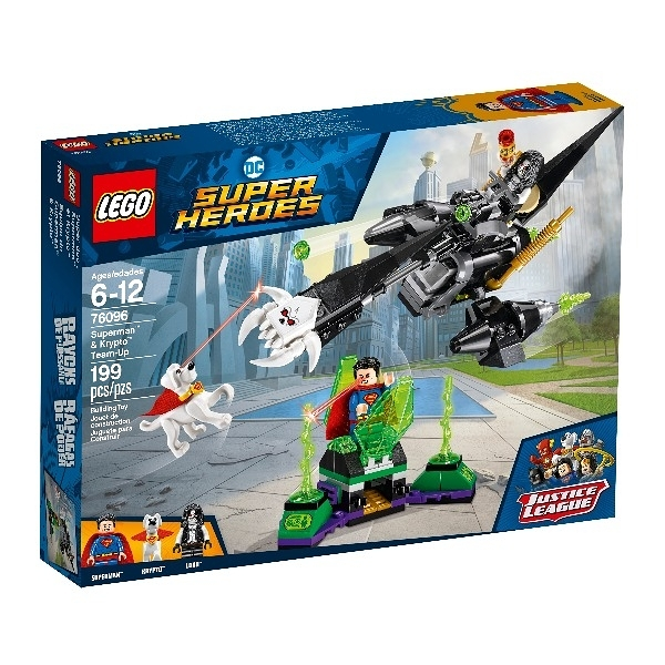 76096【LEGO 樂高積木】Super Heroes 超級英雄 Superman & Krypto Team-Up