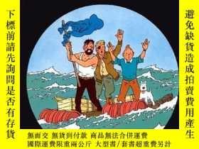 二手書博民逛書店Coke罕見En Stock (Tintin) (French