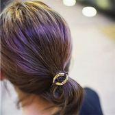 韓版森系 組合裝簡約發圈頭繩扎頭發橡皮筋發繩盤發器發帶頭飾   初見居家