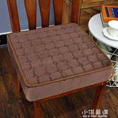 坐墊加厚增高毛絨墊子餐桌椅墊海綿可拆洗家用地上防滑座墊辦公室CY『小淇嚴選』