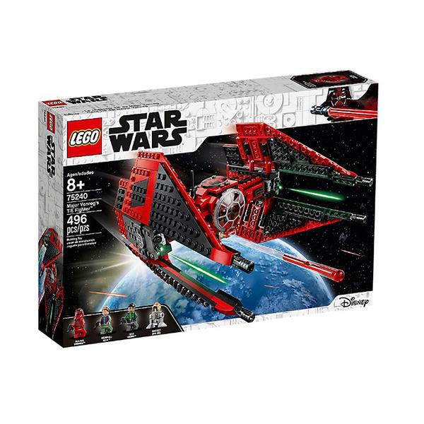 75240【LEGO 樂高積木】星際大戰Star Wars系列-Major Vonreg s TIE Fighter (496pcs)