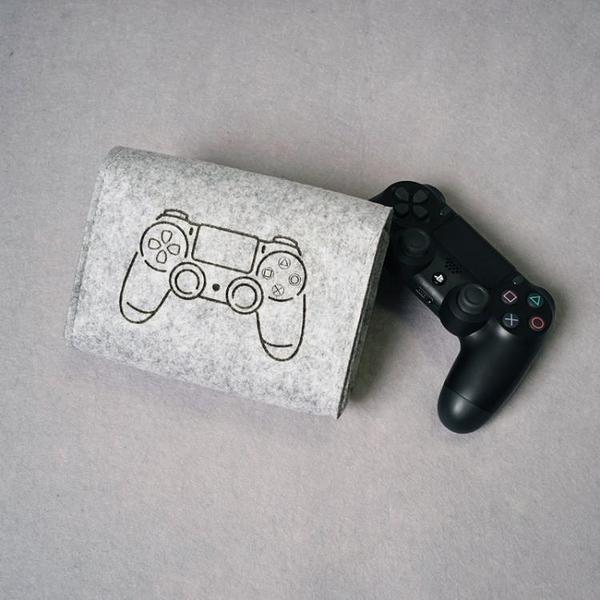ps4收納包PS4手柄收納包防塵包保護套袋配件搖桿包 毅然空間