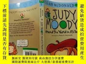 二手書博民逛書店JUDY罕見MOODY :Around the World in 8 1 2 Days:朱迪·穆迪:在8.5天內環