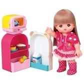 【麗嬰國際】小美樂娃娃 冰箱組 (不含小美樂) PL512623←家家酒 扮 廚房組 串珠 芭比  莉卡