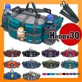 登山運動爬山露營可放水壺水瓶旅行多功能防潑水腰包背包雙肩包-多款【AAA1667】預購