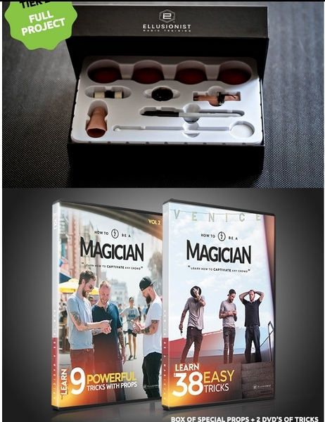 【USPCC 撲克】HOW TO BE A MAGICIAN BUNDLE