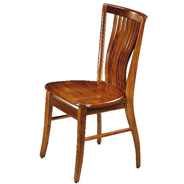 餐椅 FB-345-4 柚木色餐椅【大眾家居舘】