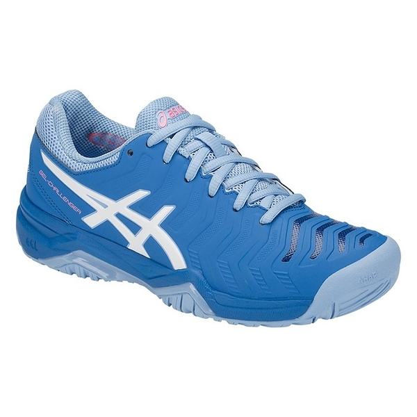 樂買網 ASICS 18FW 進階款 女網球鞋 CHALLENGER 11系列 E753Y-400 贈運動襪