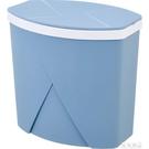 居家家自動換袋垃圾桶客廳翻蓋垃圾筒家用衛生間廚房有蓋垃圾簍  【全館免運】