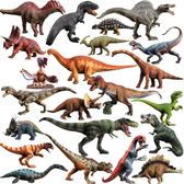 玩模樂恐龍模型仿真動物套裝霸王龍三角龍塑膠兒童玩具禮物 蜜拉貝爾