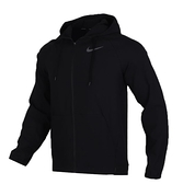 NIKE服飾系列-FLX VENT MAX HD FZ JKT 男款黑色運動外套-NO.CK1910010