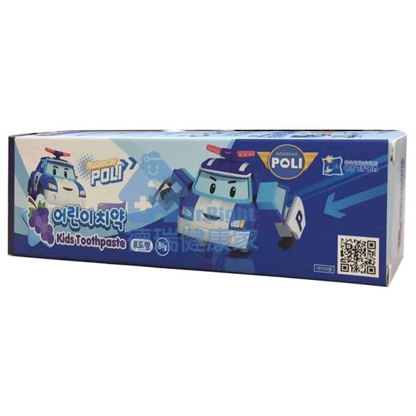 波力救援小英雄 波力 兒童牙膏 葡萄口味 80g/條◆德瑞健康家◆