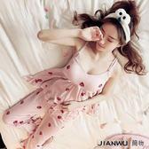 睡衣女夏季韓版可愛公主純棉性感