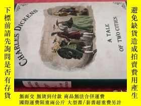 二手書博民逛書店【英文原版】A罕見Tale of Two Cities( 如圖)Y25633 Charles Dickens