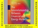 二手書博民逛書店The罕見Interrelationship Between Financial and Energy Marke