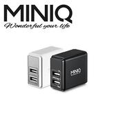 [富廉網]【miniQ】AC-DK49T 智慧型數字顯示 充電器