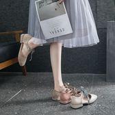 包頭平底涼鞋女鞋休閒時尚