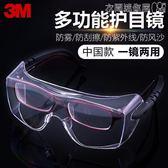 護目鏡勞保防飛濺電焊防護眼鏡透明防塵霧騎行防沙防風眼鏡男女 衣間迷你屋